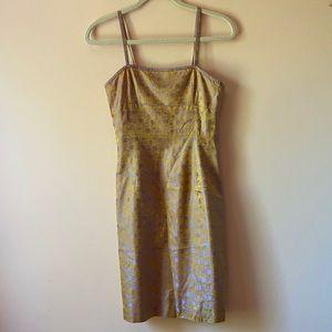 Vintage 1990s Tahari Silk Slip Dress